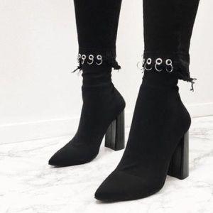 c92a9f3c3 Public Desire Shoes - NWOB Public Desire 'Libby' Sock Heel Ankle Boots